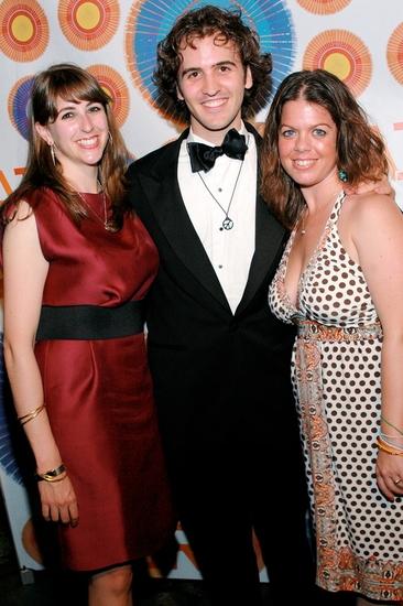 Shira Milikowsky (Asst. Dir.), Andy Sandberg and Christine O'Grady (Asst. Chor.)