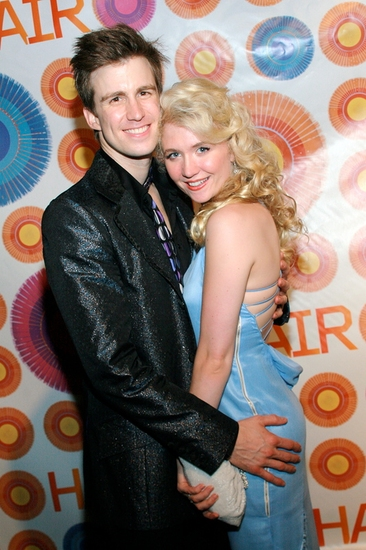 Gavin Creel and Scarlet Strallen
