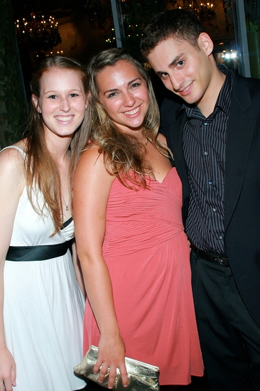 Kristen Luciani, Nicole Balsam and Sol Nathan-Kazis at 2009 Best Musical Revival HAIR's Tony After Party