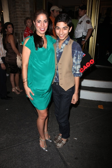 Ana Ortiz and Mark Indelicato