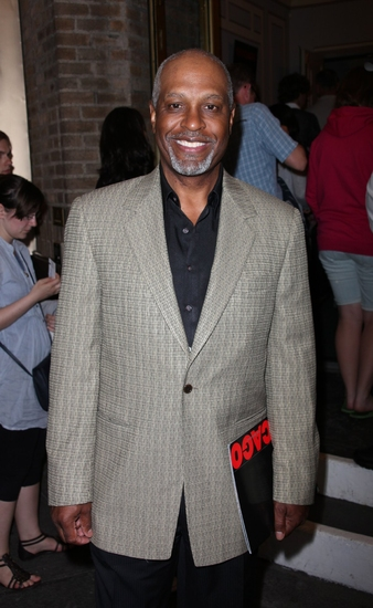 James Pickens at CHICAGO Welcomes Chandra Wilson - Arrivals and Stage Door Fun!