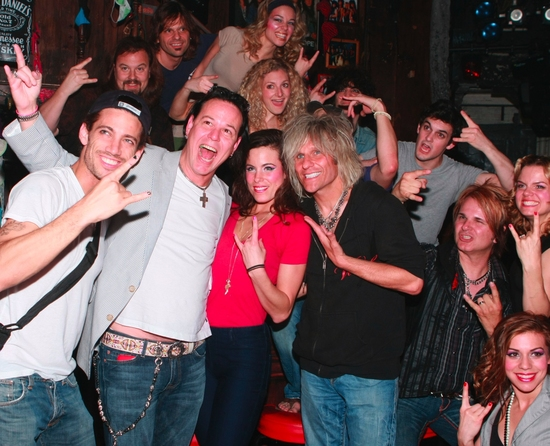 James Carpinello, Bobby Dall, Katherine Tokarz, C.C. Deville, Lauren Molina, Rikki Rockett, Amy Spanger, Angel Reed and Rock Of Ages Cast!