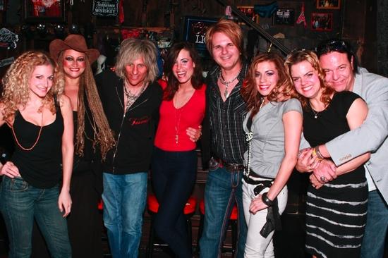 Lauren Molina, Michele Mais, C.C. Deville, Katherine Tokarz, Rikki Rockett, Angel Reed, Amy Spanger and Bobby Dall