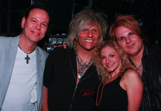 Bobby Dall, C.C. Deville, Lauren Molina and Rikki Rockett