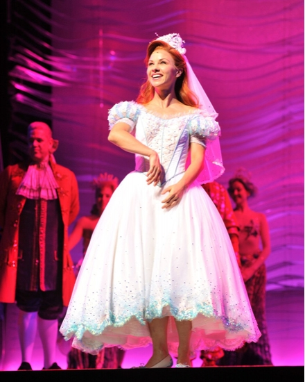 Photo Coverage: Chelsea Morgan Stock and Drew Seeley Take Their Bows in Disney's THE LITTLE MERMAID
