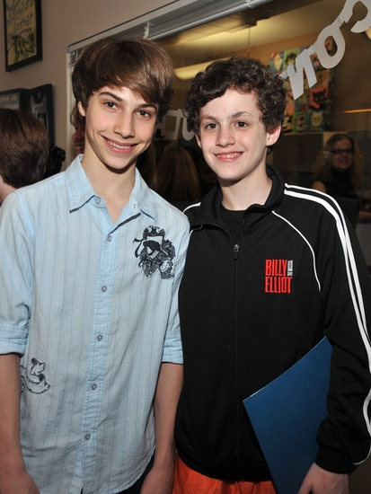 Photo Coverage: 'Broadway Kids Care' Celebrates BILLY ELLIOT's Tony Award Win!