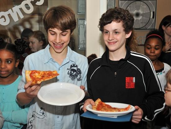 Photo Coverage: 'Broadway Kids Care' Celebrates BILLY ELLIOT's Tony Award Win!