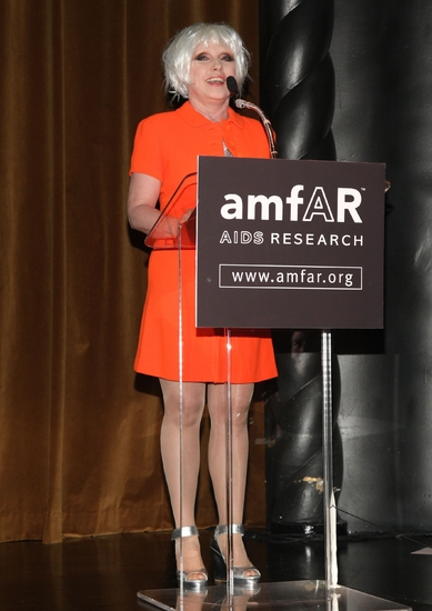 Debbie Harry at amfAR's 10th Annual Honoring with Pride Gala