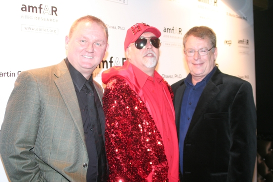Kevin Frost, Gilbert Baker and Cleve Jones