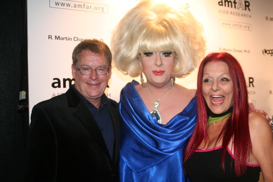 Cleve Jones, Lady Bunny and Patricia Field