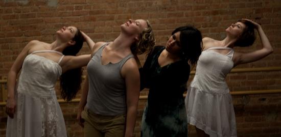 Rachel Zanders, Sandy Donahue, Amy Williams, and Mandy Work