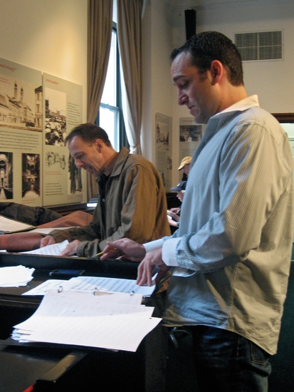 Photo Flash: In Rehearsal With GREED THE MUSICAL!