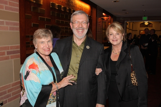 Mr. and Mrs. Leonard Maltin and Suzanne Lloyd - Harold Lloyd's grandaughter at 20th Annual Silent Film Celebration