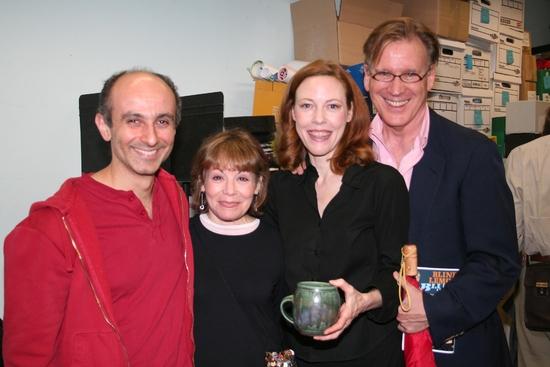 Stephen DeRosa, Alice Playten, Veanne Cox and Warner Shook