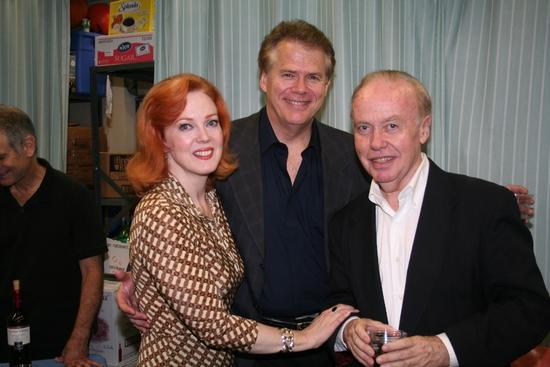 Beth Glover, Daren Kelly and Bernie Carragher