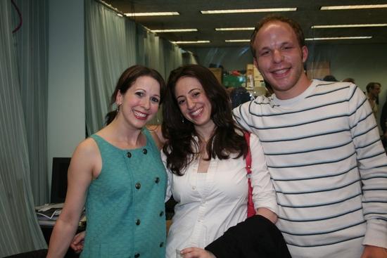 Kristen Wyatt, Nikole Vallins and Geoff Josselson (Casting Director)