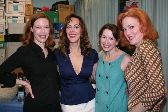 Veanne Cox, Janine LaManna, Kristen Wyatt and Beth Glover