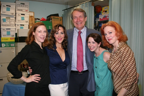 Veanne Cox, Janine LaManna, David McCoy, Kristen Wyatt and Beth Glover