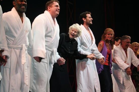 Joe Coots, Elaine Stritch, Wayne Wilcox, Jenn Colella and Michael Rupert