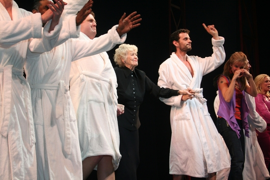 Joe Coots, Elaine Stritch and Wayne Wilcox