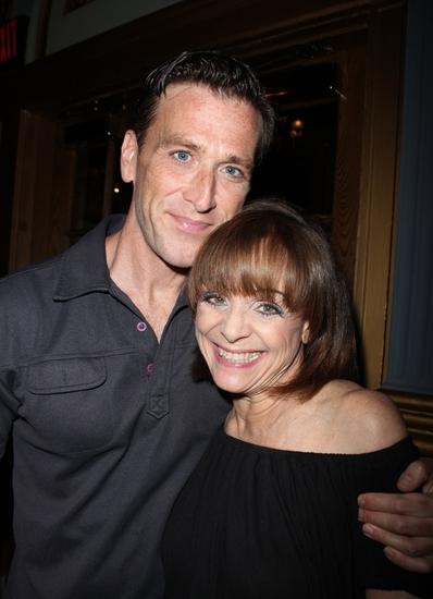 Jay Goede and Valerie Harper