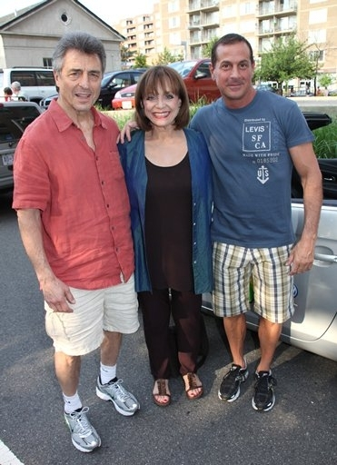 Tony Cacciotti, Valerie Harper, and Matthew Lombardo