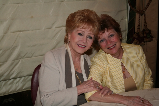 Debbie Reynolds and Anita Gilette