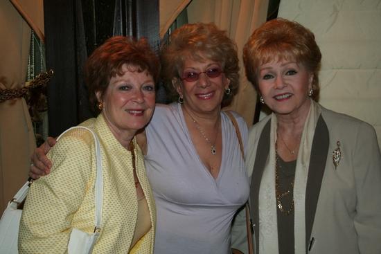 Anita Gillette, Marilyn Michaels and Debbie Reynolds
