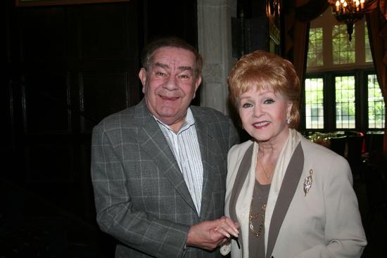 Dean Freddie Roman and Debbie Reynolds