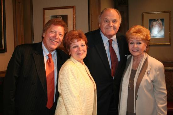 Robert R. Blume, Anita Gilette, George S. Irving and Debbie Reynolds