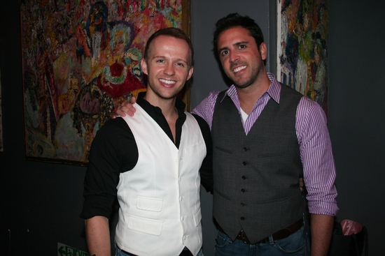 Marty Thomas and Scott Alan at 'Just Me and Them: The Music Of Scott Alan' at Birdland