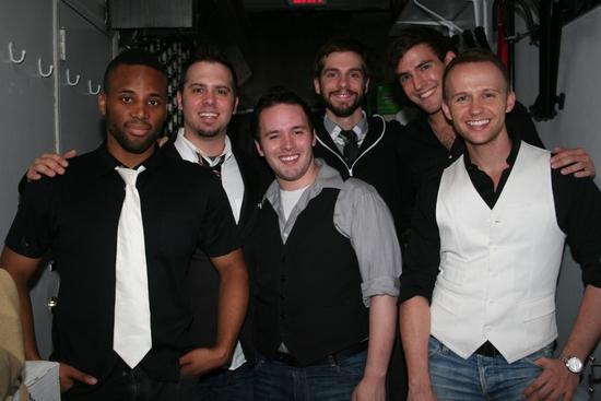 Maurice Murphy, Brad Bass, Gabriel Violett, Mike Harrison, Morgan Karr and Marty Thom Photo