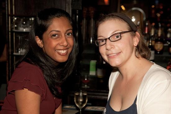 Anitha Gandhi and Anna Ziegler