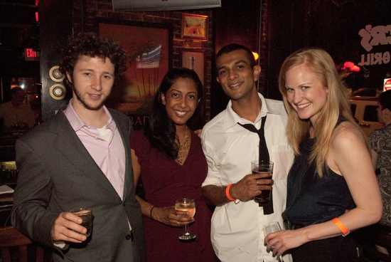 Adam Green, Anitha Gandhi, Utkarsh Ambudkar, and Heidi Armbruster