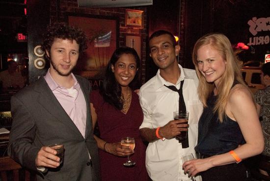Adam Green, Anitha Gandhi, Utkarsh Ambudkar, and Heidi Armbruster