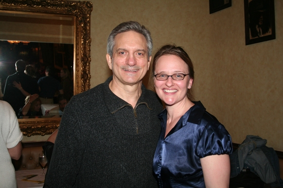 Martin Vidnovic and Heather Powell