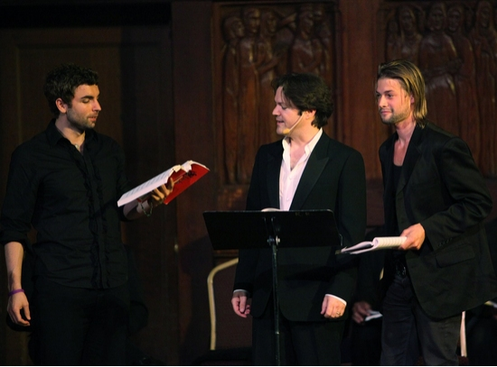 Sal Sabella, Robert Petkoff and Brandon Ruckdashel