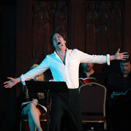Photo Coverage EXCLUSIVE: Wildhorn And Bricusse's 'JEKYLL AND HYDE IN CONCERT'