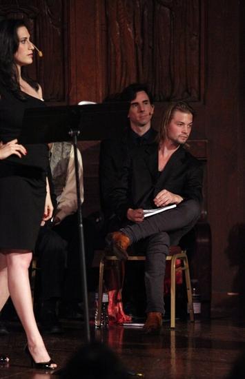 Jennifer Hallie Rosen (Diamond), Tony Wolf and Brandon Ruckdashel