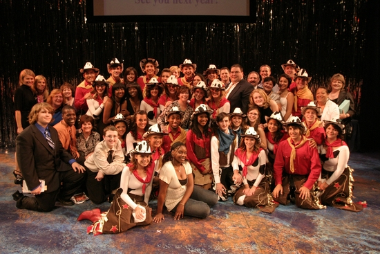 2009 Rising Star Awards, Photo by Jerry Dalia, Winners of Outstanding Overall Production of a Musical, The cast, crew and creative team of Rahway High School for Will Rogers Follies