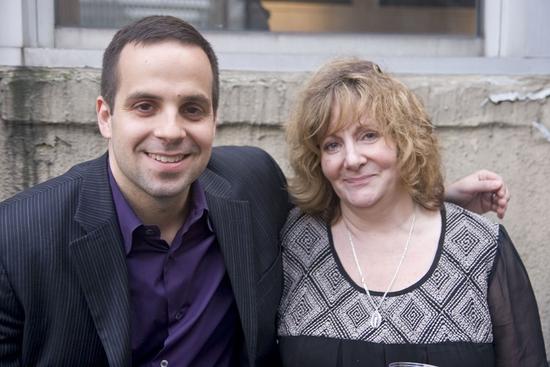 Damian Bazadona and Ian Bennett's mother, Lisa