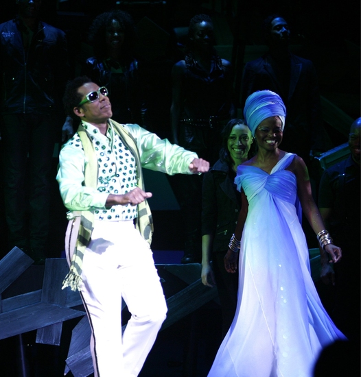 Photo Coverage: Encores! Summer Stars' 'THE WIZ' Opening Night - Curtain Call