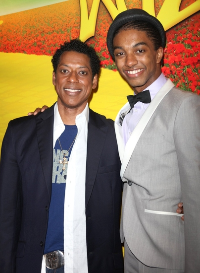 Orlando Jones and Christian Dante White