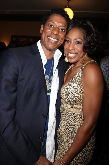 Orlando Jones and Dawnn Lewis