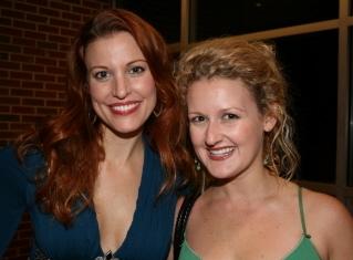 Rachel York and Danielle Naugler