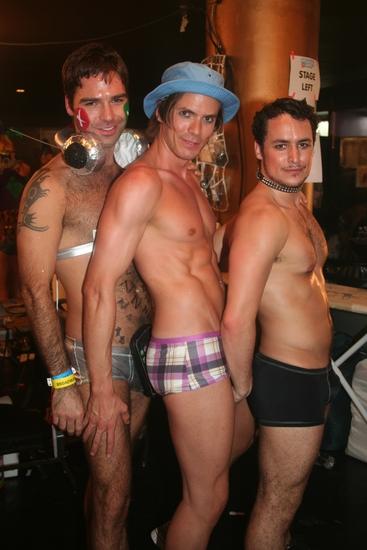 Alex Quiroga, ben ryan and Sydney Erik Wright