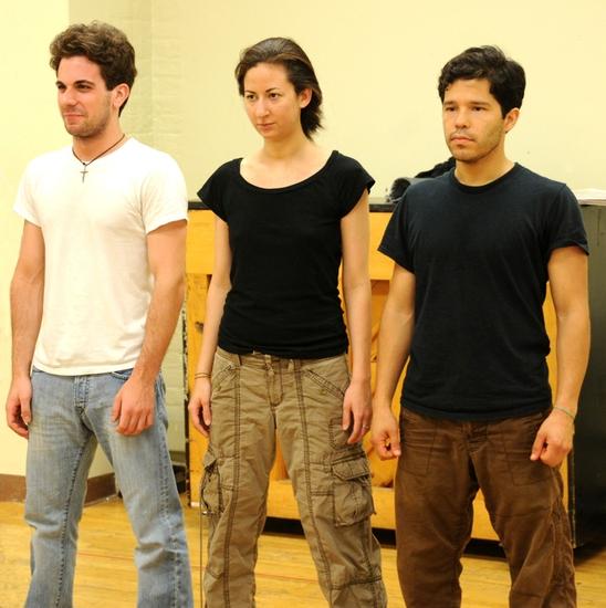 Frank De Julio, Krisina Valada-Viars, and Carlo Alban