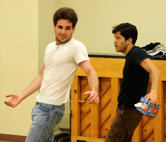 Photo Flash: 13P's 'Monstrosity' In Rehearsal