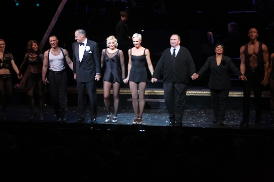 Tom Hewitt, Bryn Dowling, Amra-Faye Wright, Thomas Riis Farrell, Chandra Wilson and the cast take their company bow