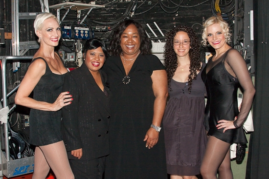 Amra-Faye Wright, Chandra Wilson, and Shonda Rhimes, guest and Bryn Dowling